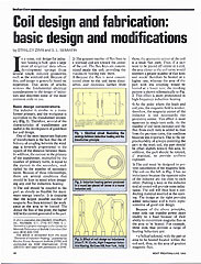 Coil Design and Fabrication
