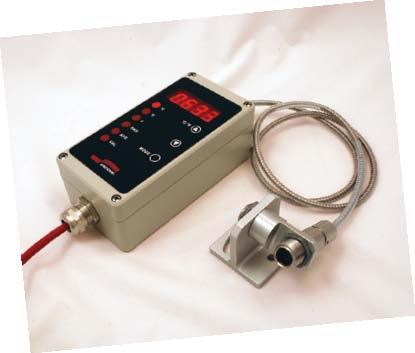 光ファイバー式赤外線放射温度計Modline 6